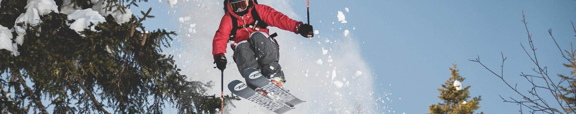 Freeride skis