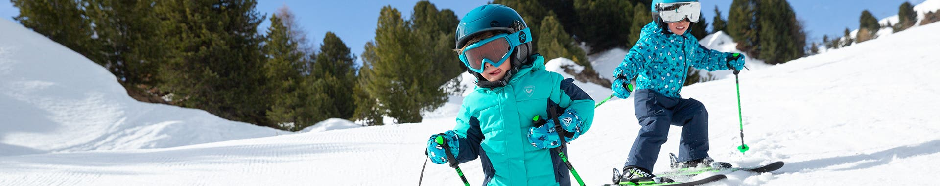 Kids ski accessories - girls