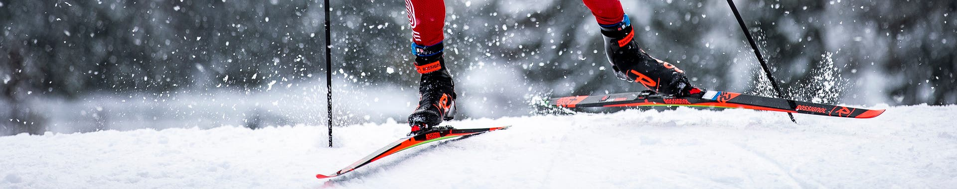 Nordic skis and accessories