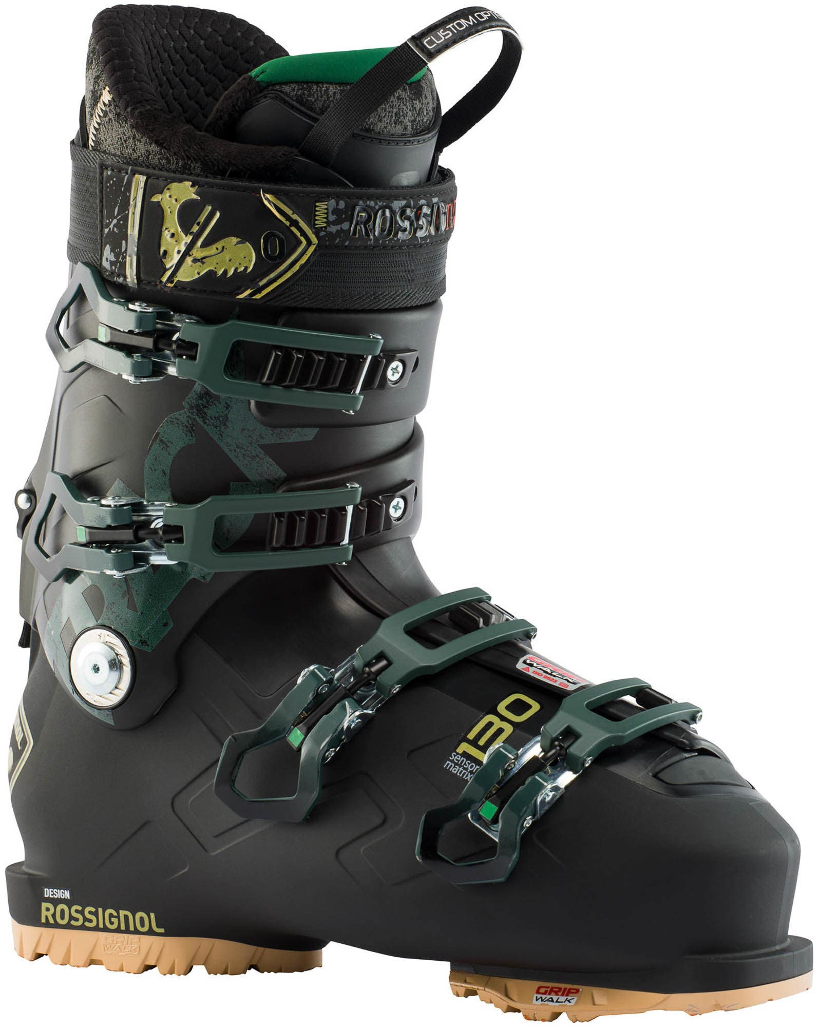 Image of Men's All Mountain Ski Boots Track 130 Gw