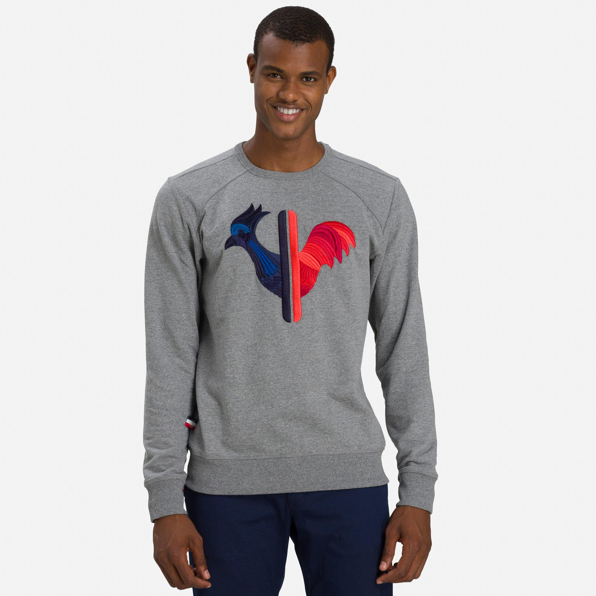 Image of Men's Embroidered Rooster Sweatshirt