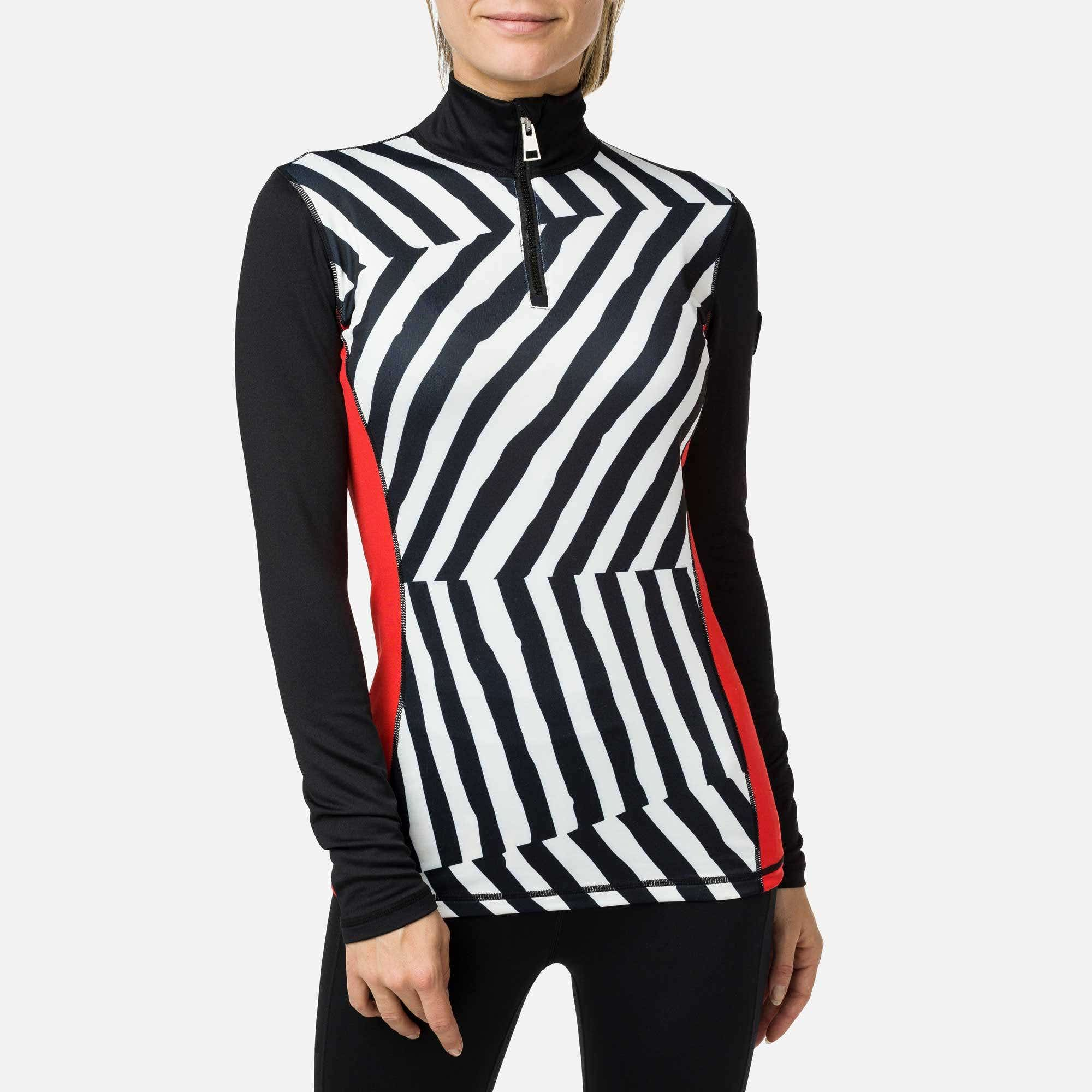 Image of JCC Women's Print Bessi 1/2 Zip Layer