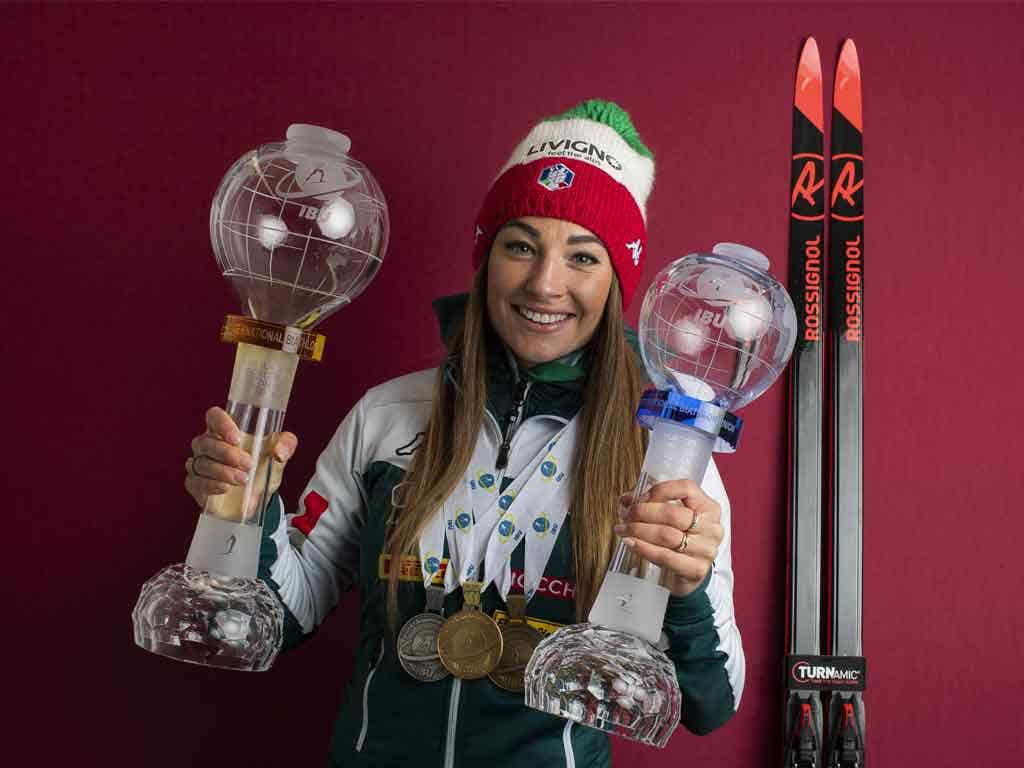 Biathlon: two talented italians Dorothea Wierer and Lisa Vitozzi