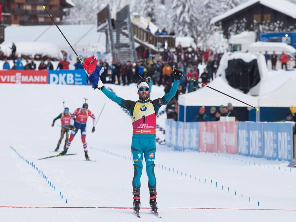 12 individual races = 12 podiums for Martin Fourcade