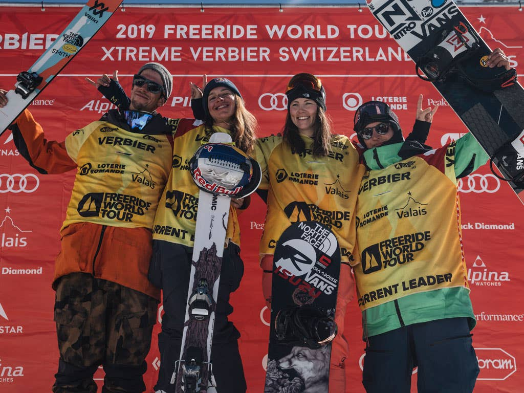 Equal prize money for every Freeride World Tour athletes