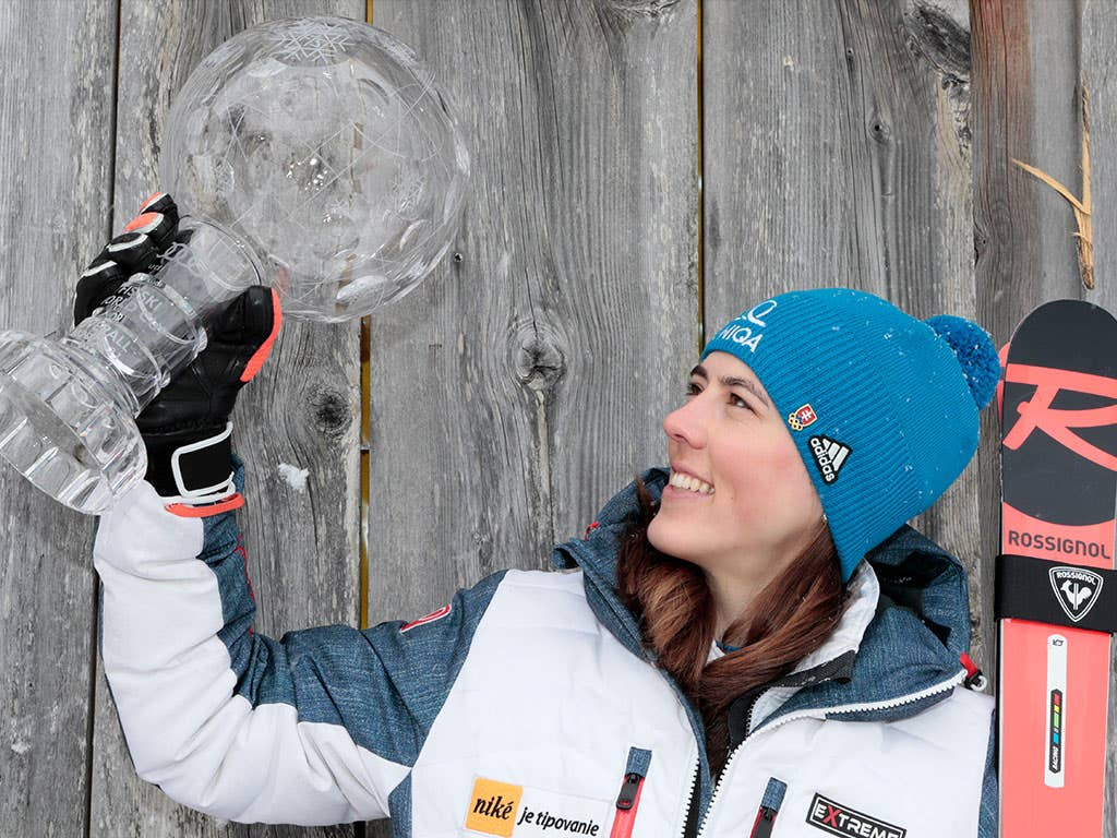 Petra Vlhova wins the Big Crystal Globe, Katharina Liensberger takes the Slalom one!