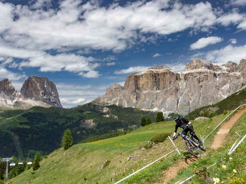 The first EWS Race for the Rossignol Factory Team