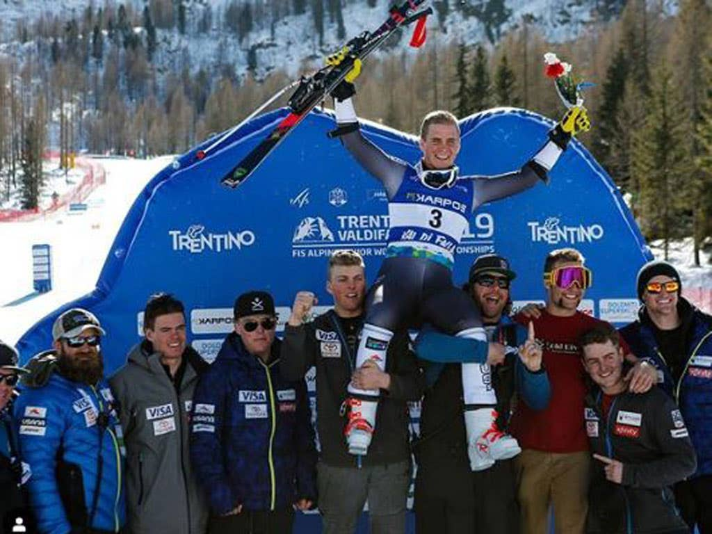 The young Heroes at the summit at the Junior World Championships!