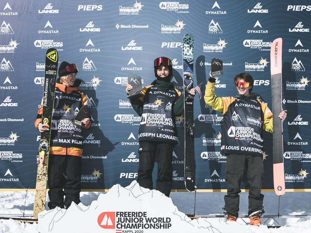 Two silver medals at the Freeride Junior World Championships