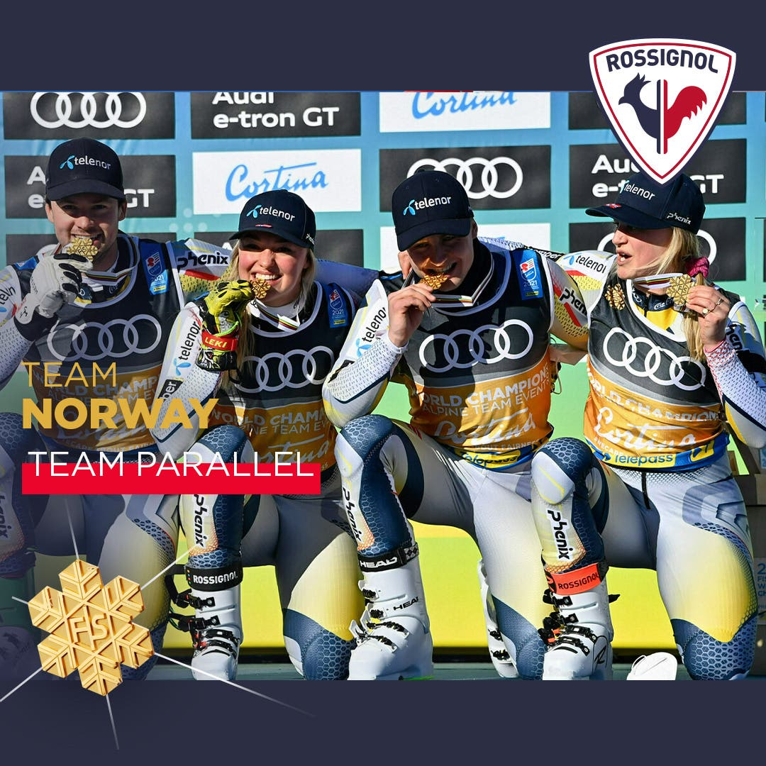 Norway team, parallel bronze medal