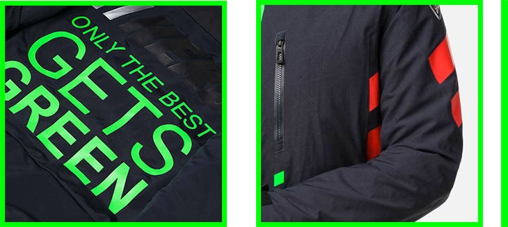 Green light Rossignol Hero jacket