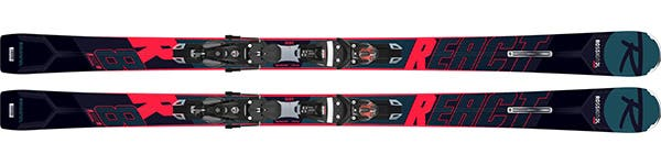 Rossignol REACT R8 TI- Men ski range React - Find your flow