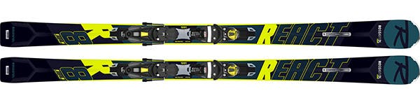 Rossignol REACT R8 HP- Men ski range React - Find your flow