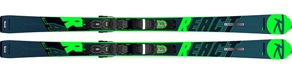Rossignol REACT R4 SPORT- Men ski range React - Find your flow