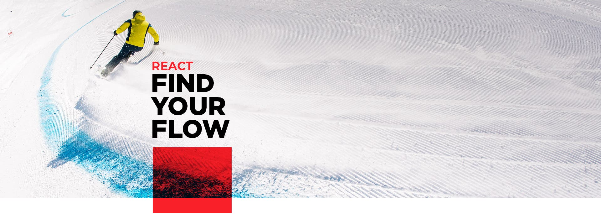 Rossignol Men ski range React - Find your flow