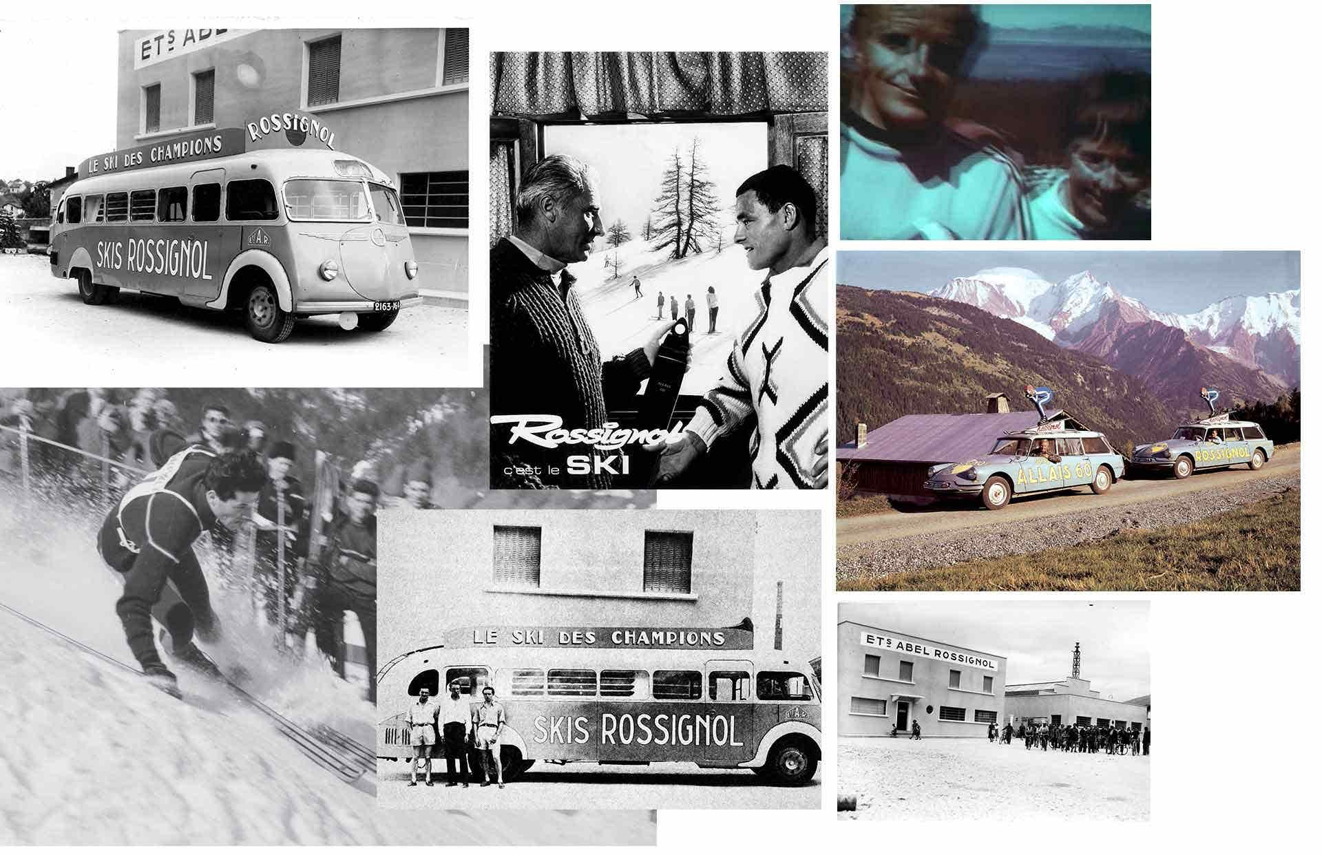 Rossignol origins history of the brand old pictures