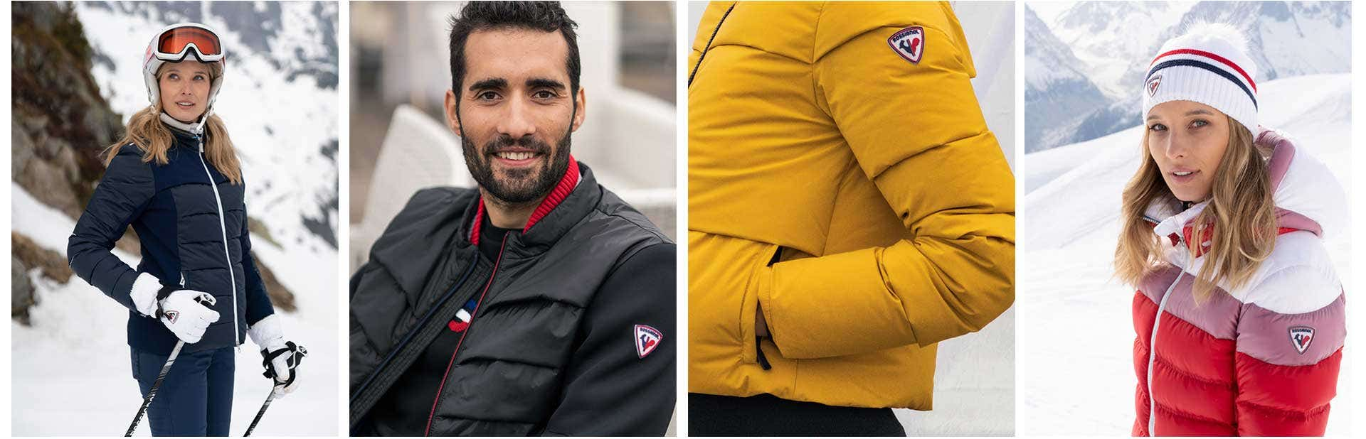 Rossignol history iconic codes elegance Martin Fourcade Laury Thilleman