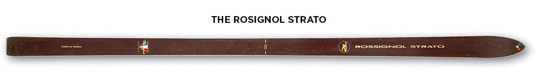 Rossignol history iconic codes heritage Strato
