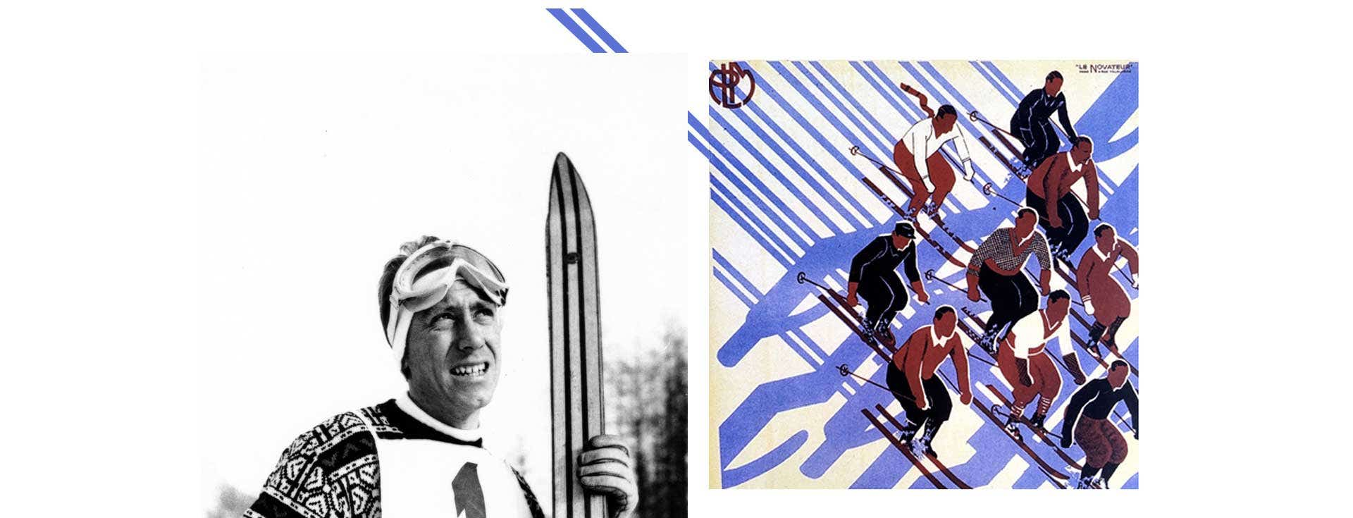 Rossignol history iconic codes heritage stripes