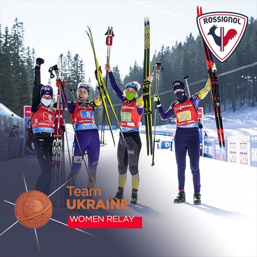 Team Ukraine, bronze medal women relay